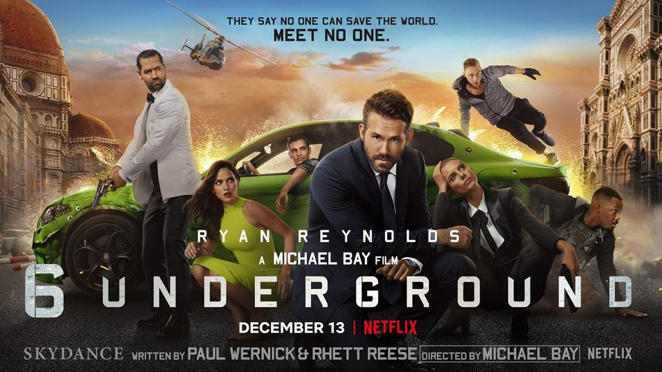 Review: Michael Bay And Ryan Reynolds' '6 Underground' Is Another ...