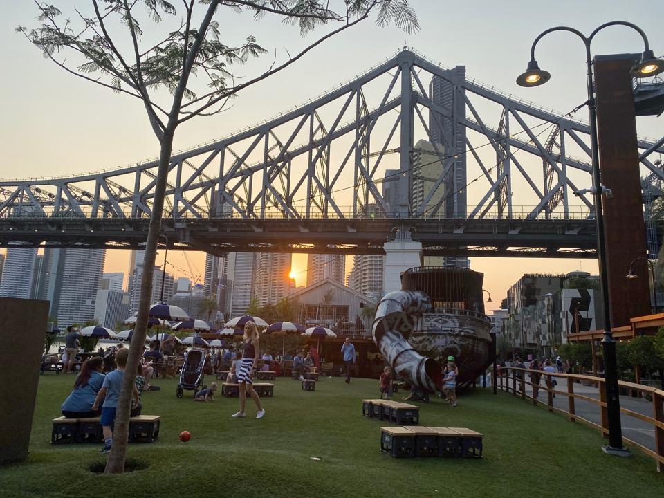 Howard Smith Wharves, Brisbane.