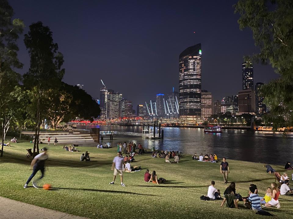 South Bank, Brisbane.