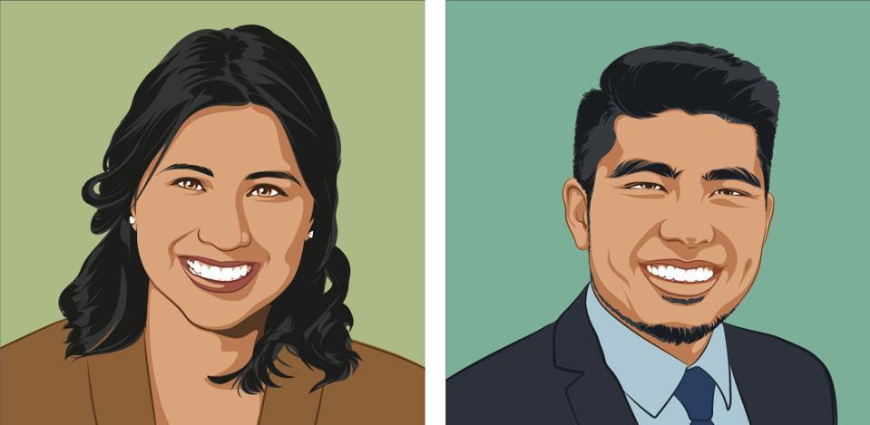 """Denisse Rojas Marquez and  Jirayut """"New"""" Latthivongskorn"""