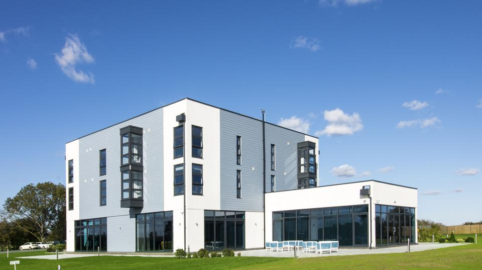 Glasshouse wellness retreat in Essex