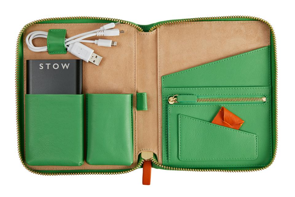 A limited-edition mini First Class tech case by STOW and Emma J Shipley launching 6th January 2020