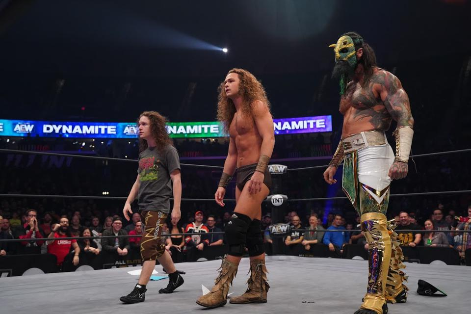 AEW Dynamite Results: News And Notes After Jungle Jack Perry Pins Chris Jericho