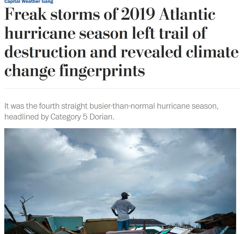 Screen shot of Washingtonpost.com article.