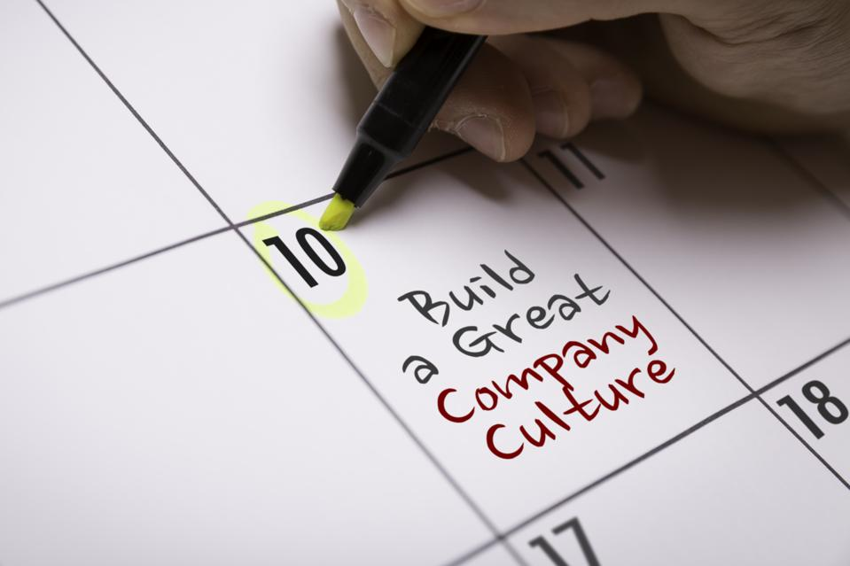 Gather evidence for building a strong company culture