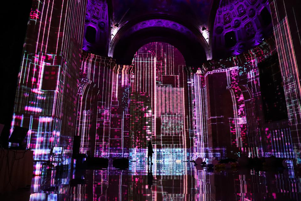 A scene from ″SuperReal″ at Cipriani.