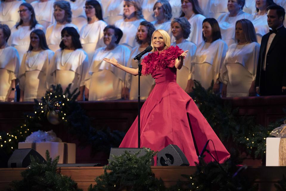 December 2018: 'Christmas with The Tabernacle Choir featuring Kristin Chenoweth'
