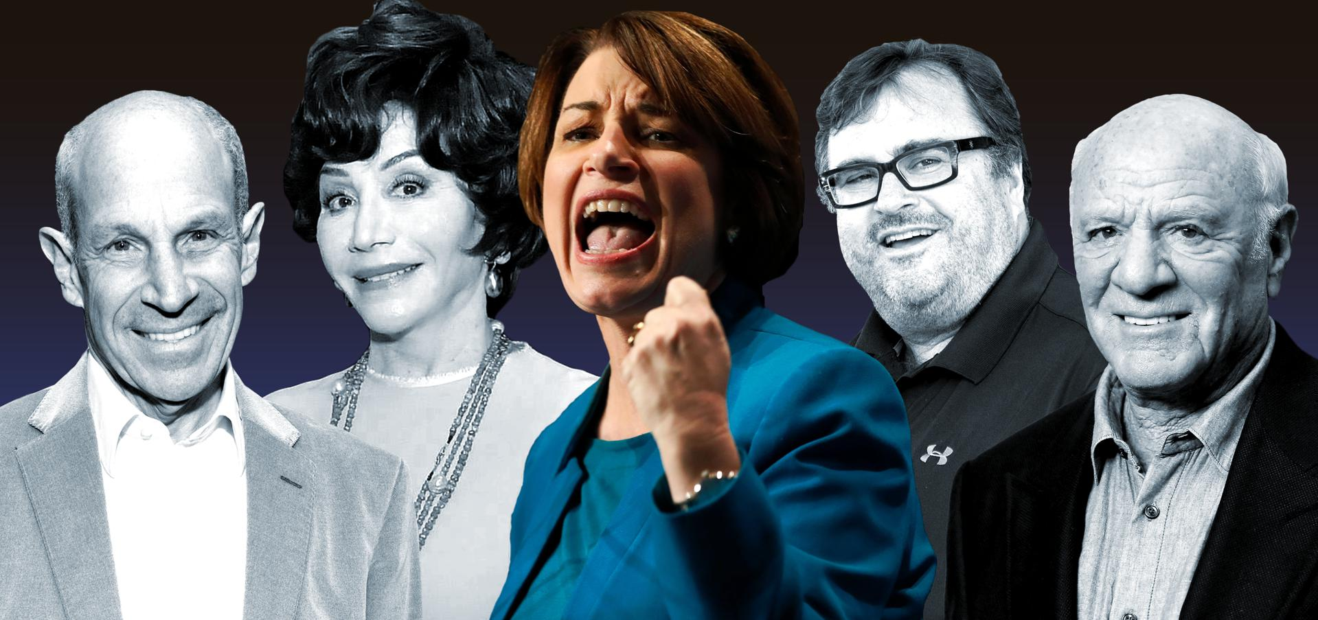 Here Are The Billionaires Backing Amy Klobuchar's Presidential Campaign