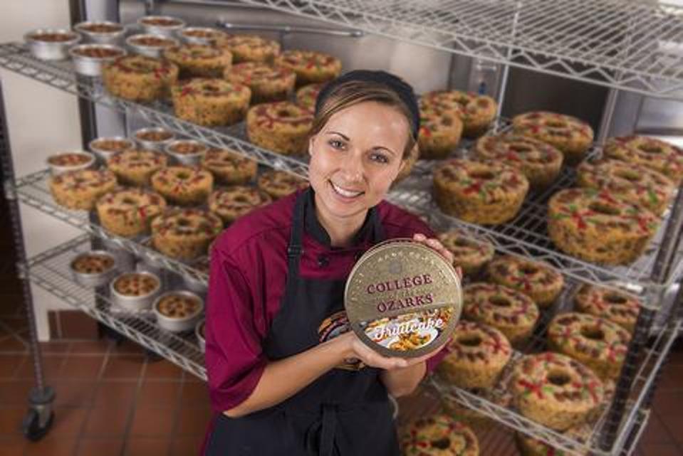 College of the Ozarks fruitcake