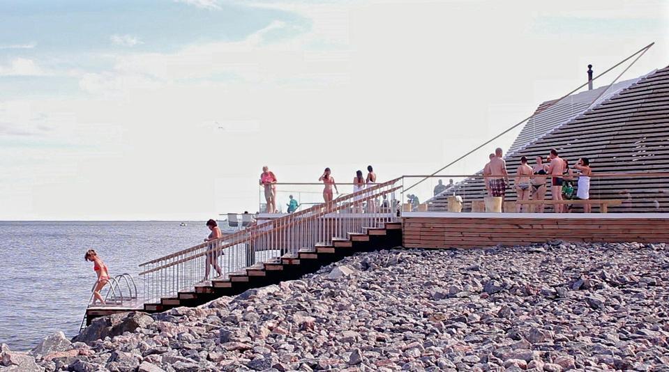FINLAND-LIFESTYLE-SAUNA