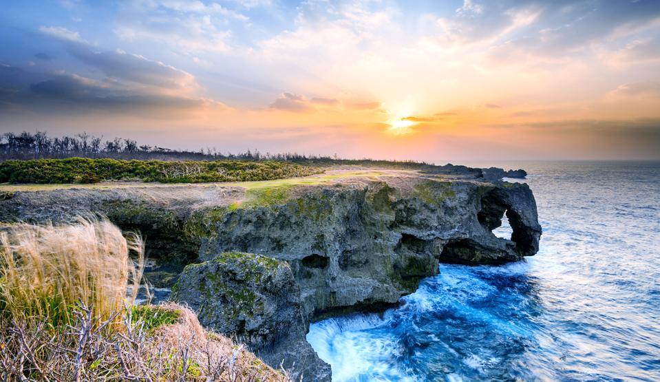 Manzamo Cape of Okinawa
