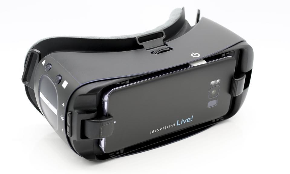 IrisVision headset