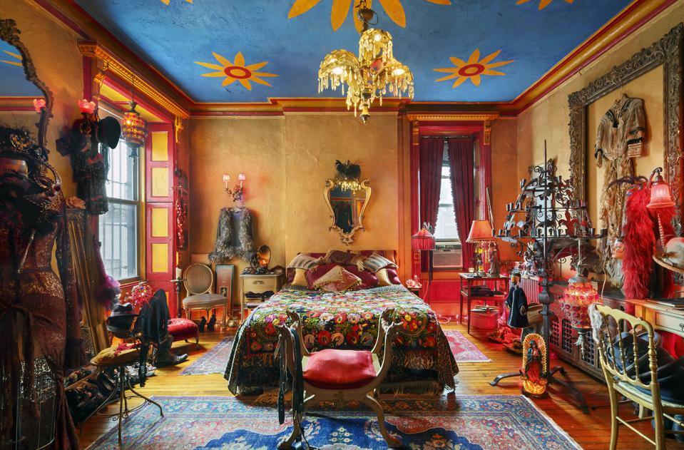 Apartment of photographer and Hotel Chelsea resident, Tony Notarberardino.