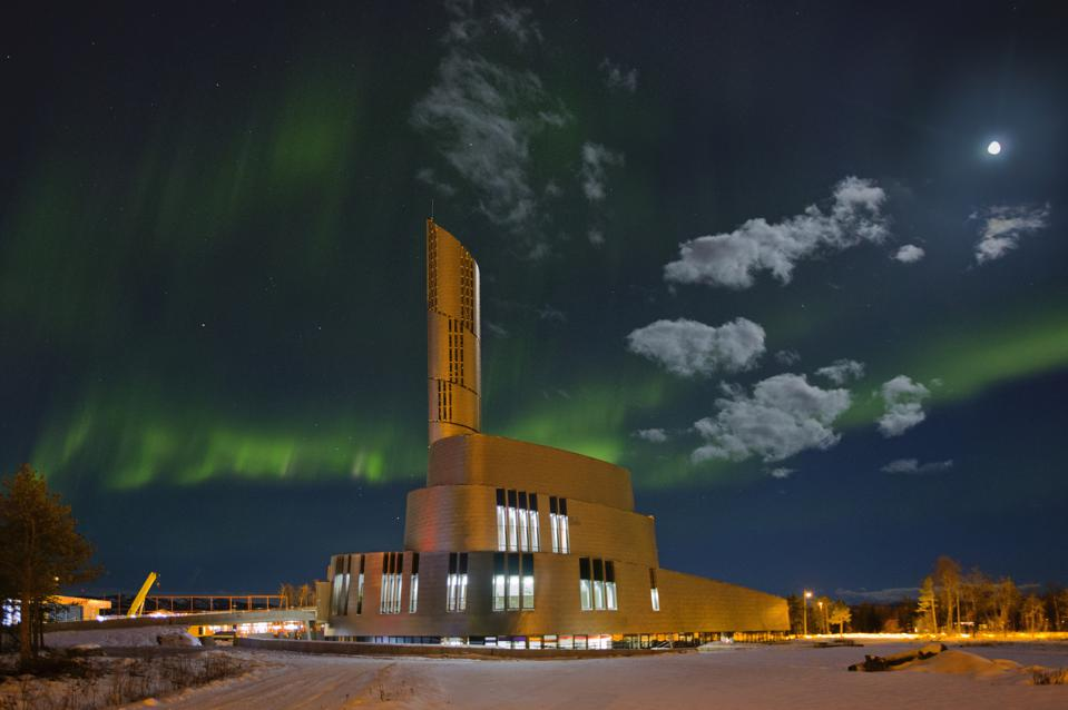 Cathedral Of The Northern Lights, Alta, Norway.