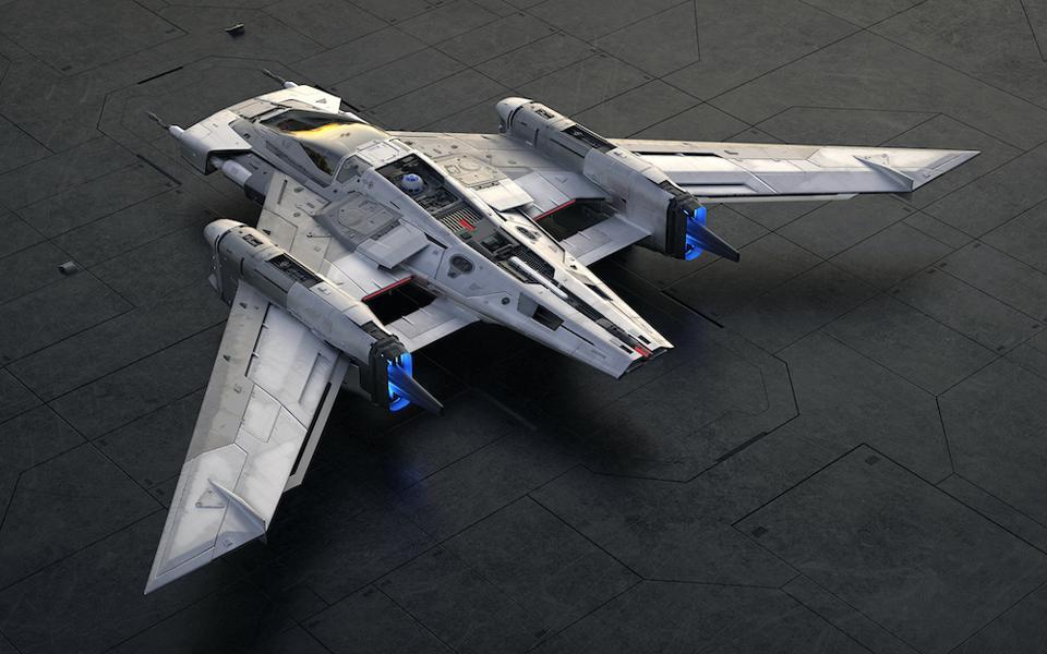 Tri-Wing S-91x Pegasus Starfighter