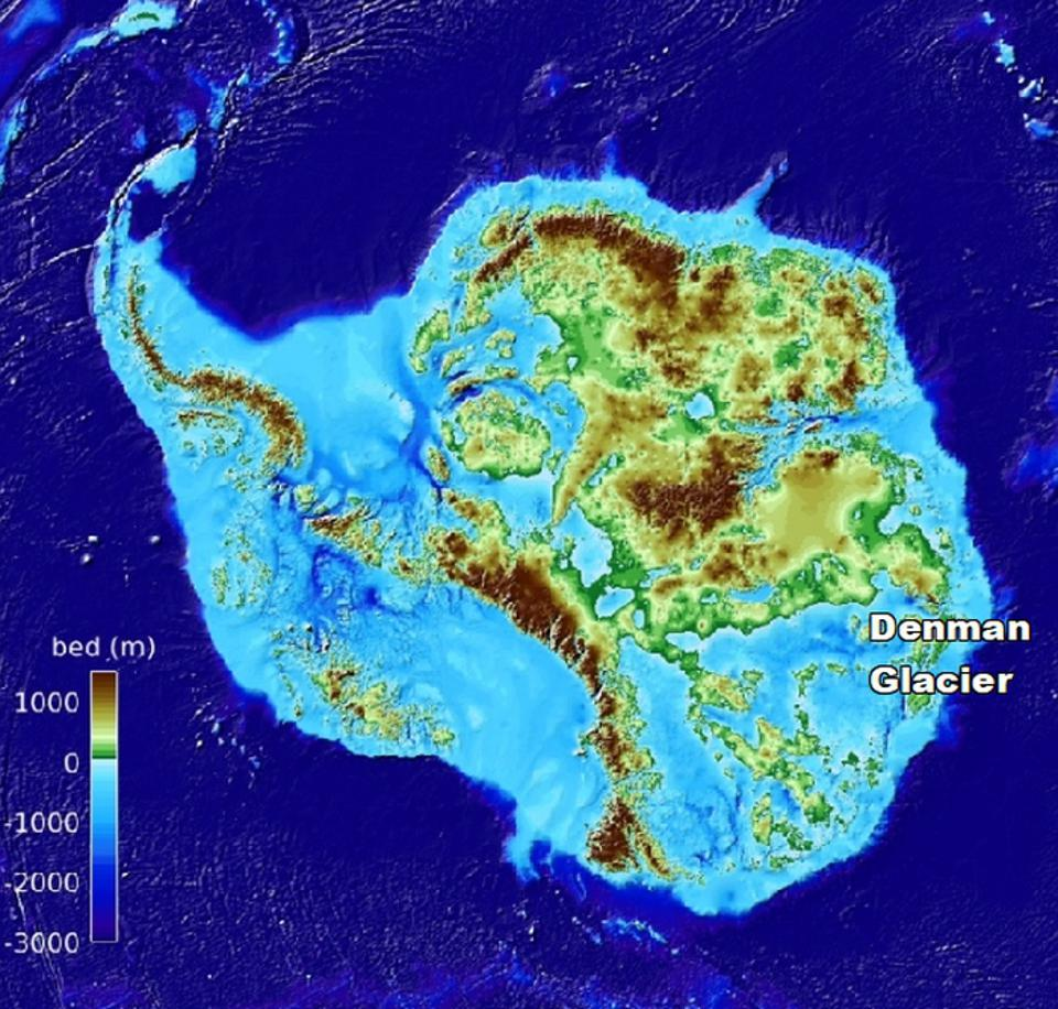 The Deepest Point On Land Found In Antarctica