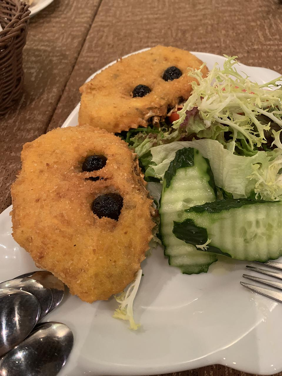 Restaurante Litoral Taipa's Baked Crab