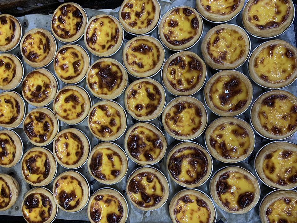 Lord Stow's Bakery's Egg Tarts