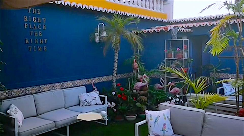 The roof terrace bar at Se Hotel, in Funchal's Old Town, Madeira