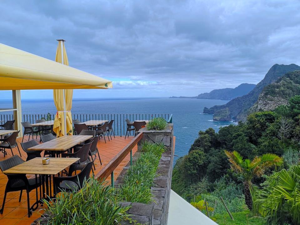 View from Quinta do Furao, Madeira