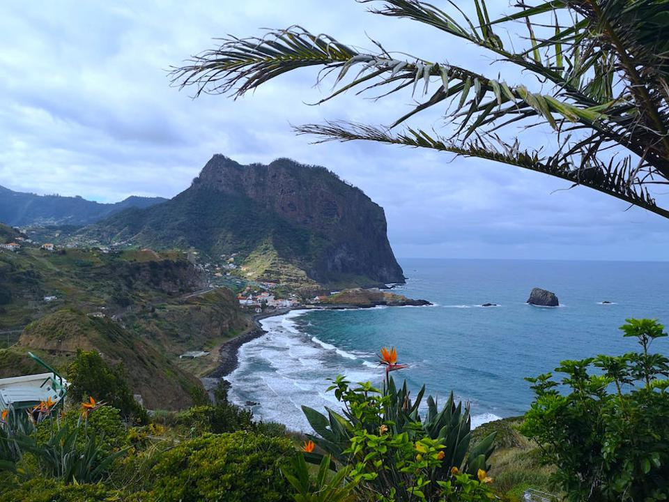 One of the many stunning views you'll see on a tour the island with Hit The Road Madeira