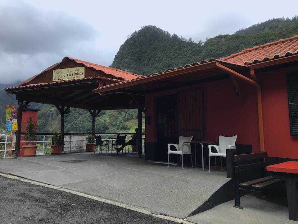 This roadside bar in the mountains is a great pitstop while on tour with Hit The Road Madeira.