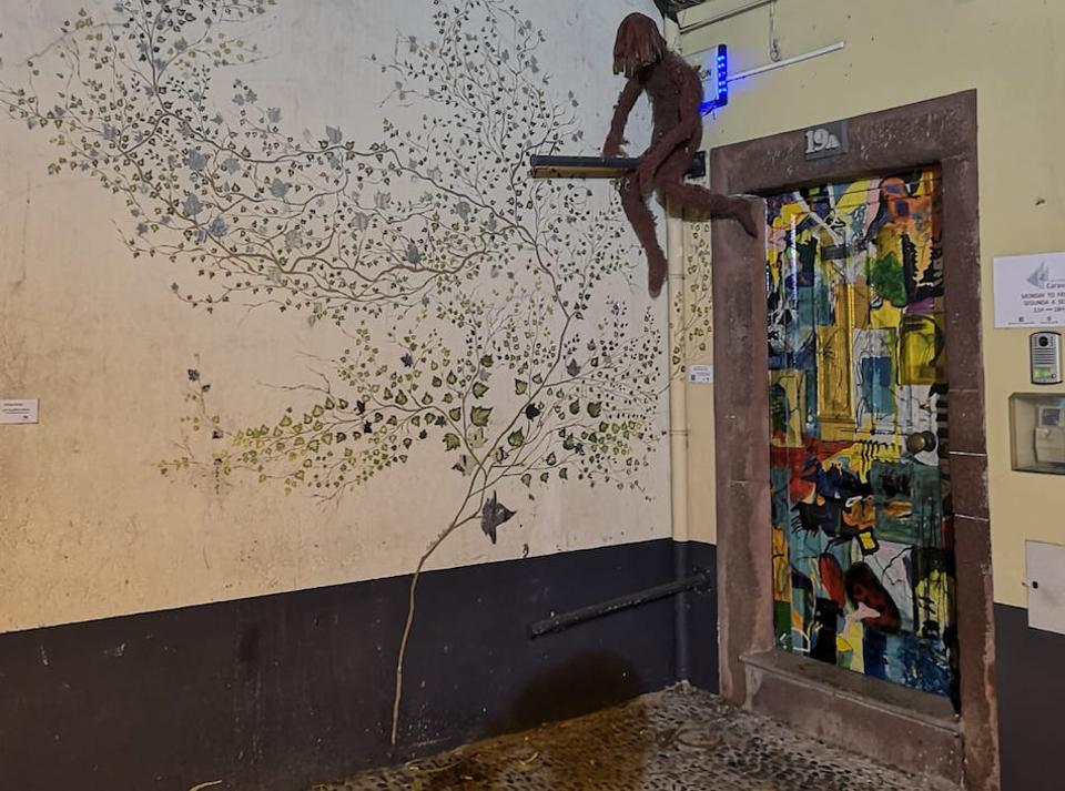 The painted doors project, Funchal