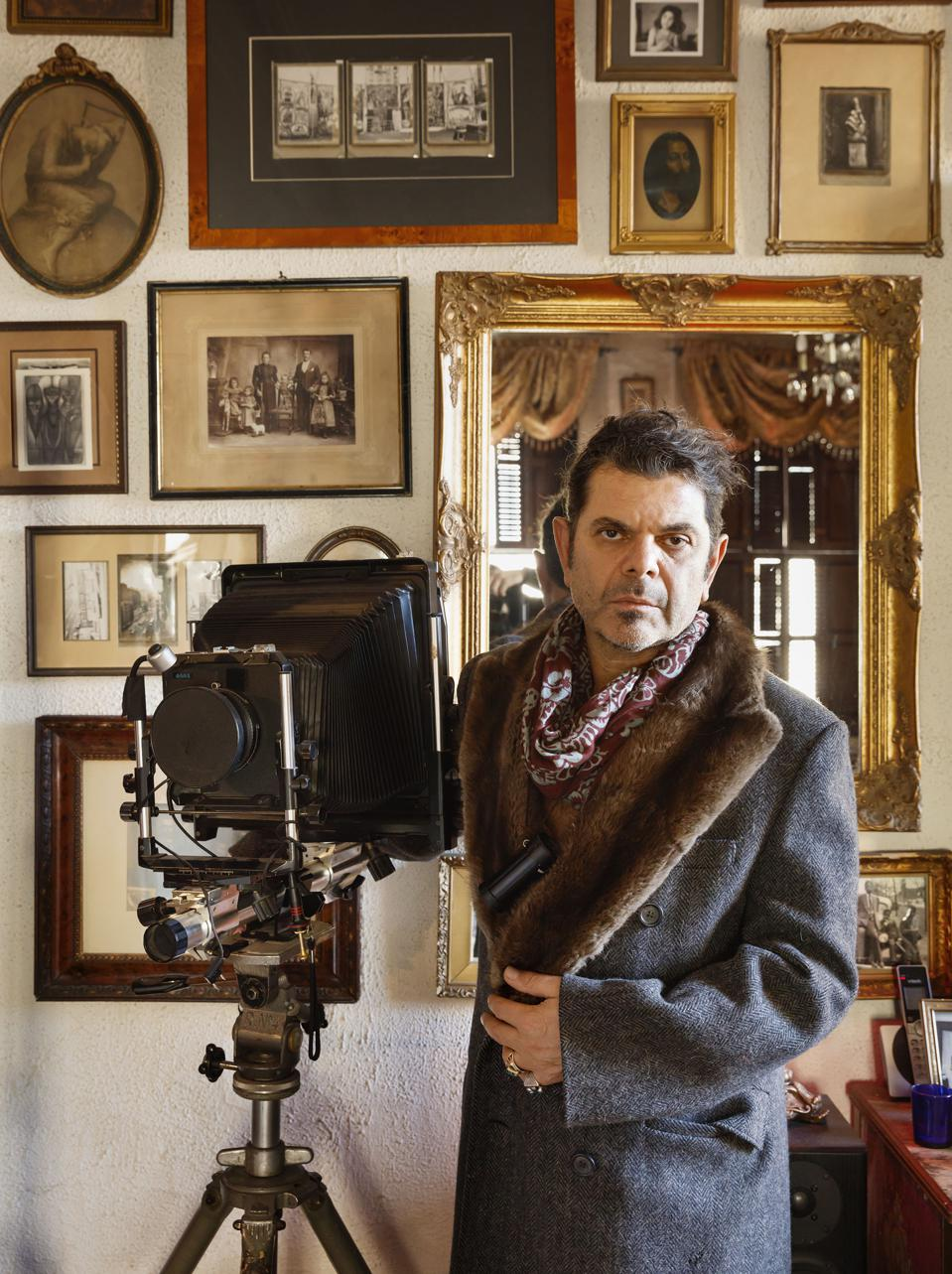 Hotel Chelsea resident and photographer, Tony Notarberardino, has been living in the hotel since 1994.