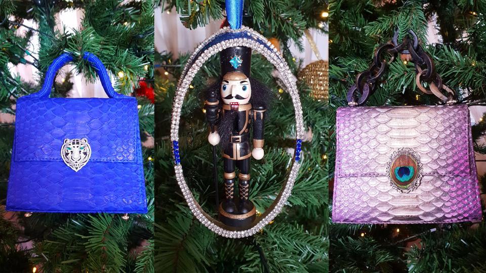 Kempinski Hotel Bahia Purse Nutcracker Ornaments