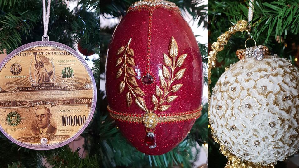 Kempinski Hotel Bahia X-Mas Tree Ornaments Most Expensive