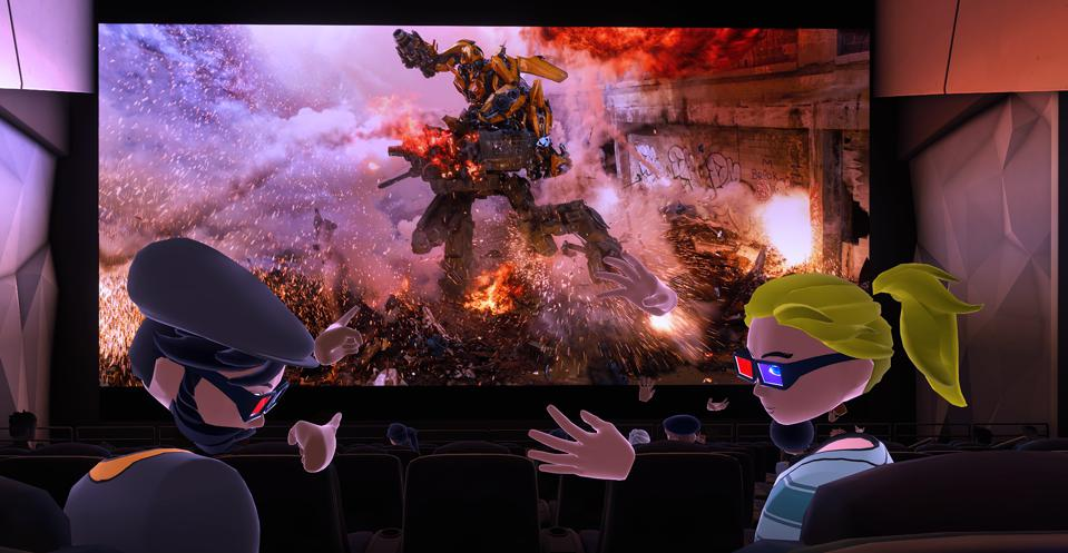 Paramount Bigscreen app VR