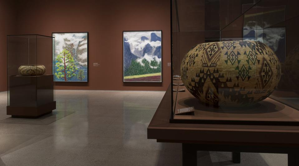 Yosemite Valley Brings Together David Hockney And Indigenous Baskets At Heard Museum In Pheonix