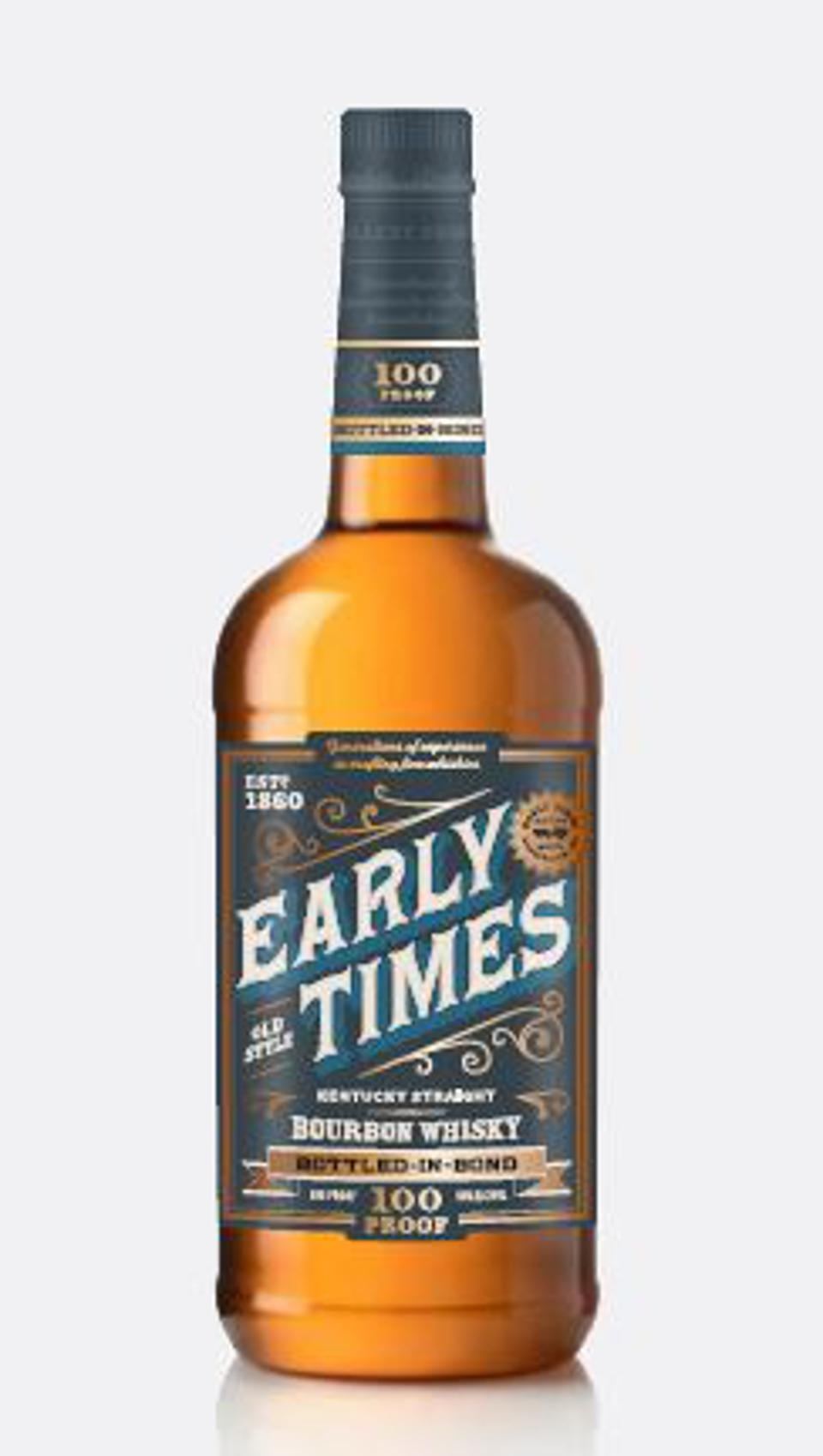 Brown-Forman owns Early Times.