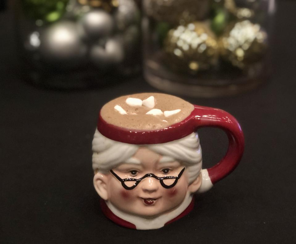 Double Take hot chocolate cocktail