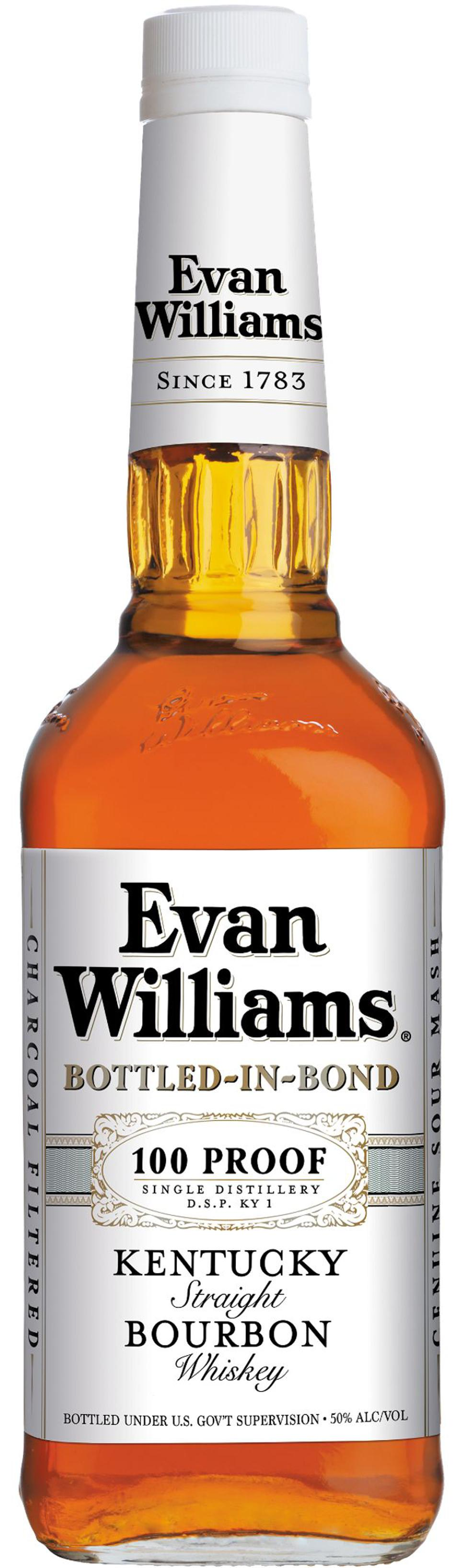Heaven Hill owns Evan Williams.