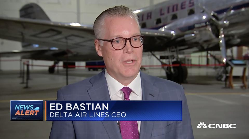 Delta Air Lines CEO Ed Bastian