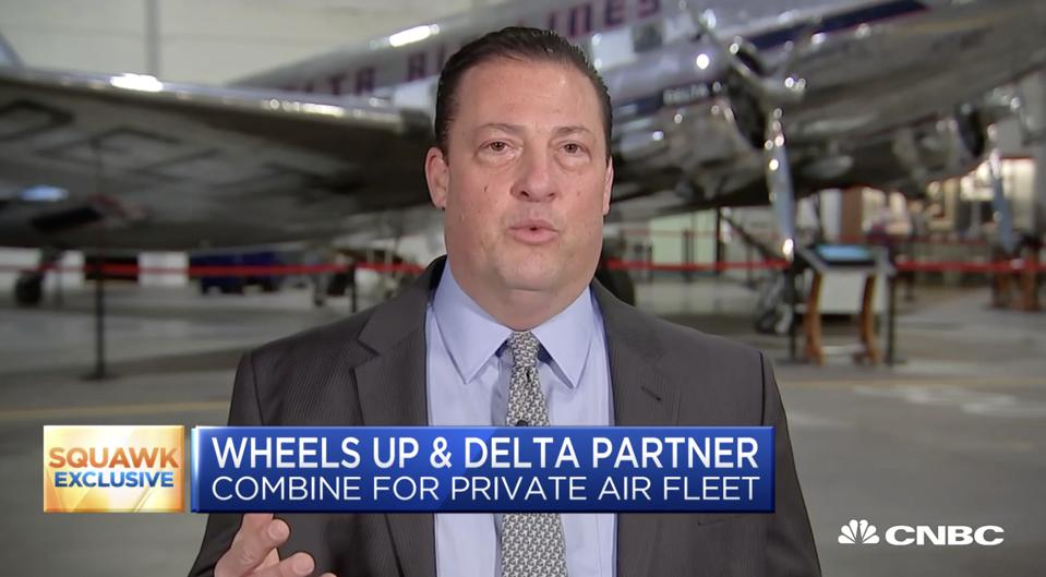 Wheels Up CEO Kenny Dichter