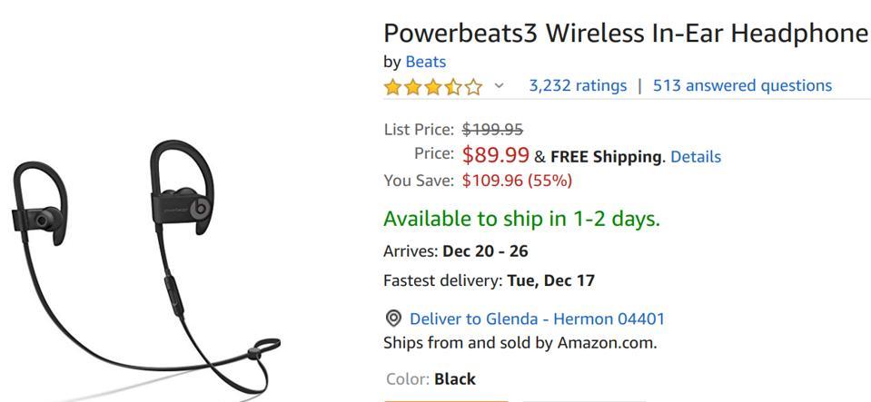 Amazon headphone deals, Amazon earphone deals, Amazon airpods deals, Amazon beats deals,