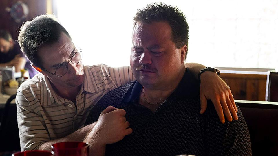 Sam Rockwell and Paul Walter Hauser in Clint Eastwood's 'Richard Jewell'