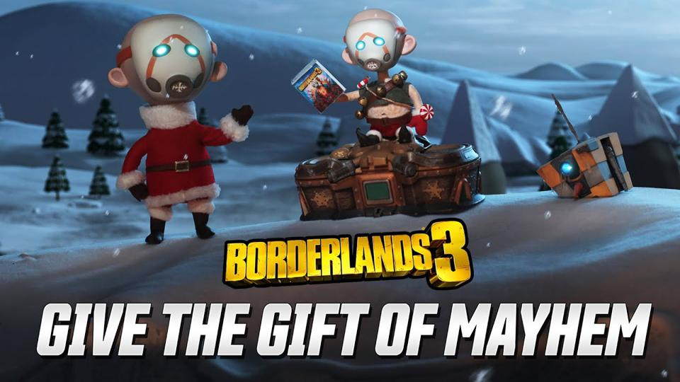 Shift Code Borderlands 3 Christmas