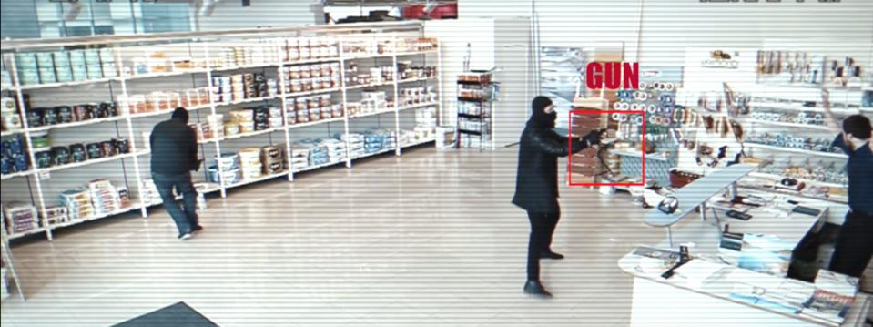 simulated robbery