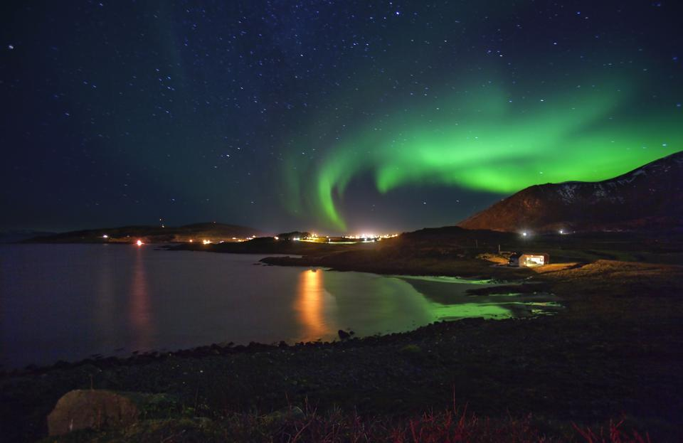 Northern Lights, Finnmark County, Norway.
