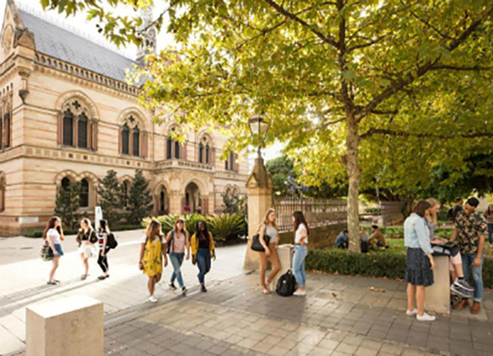 The University of Adelaide campus.