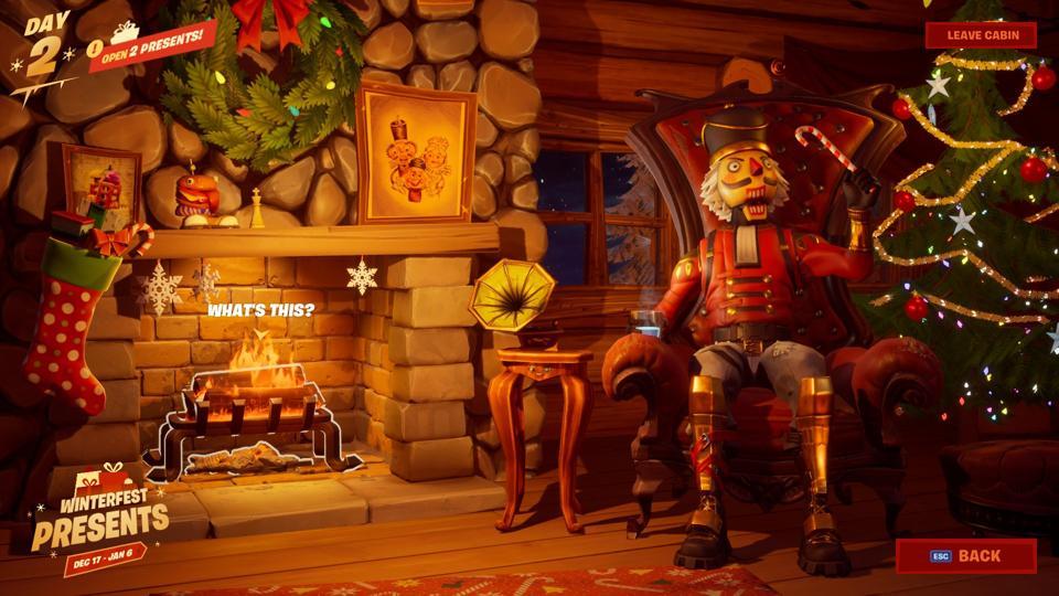 'Fortnite' Winterfest Challenges, Rewards and Interactive Cabin Lobby Leak Online