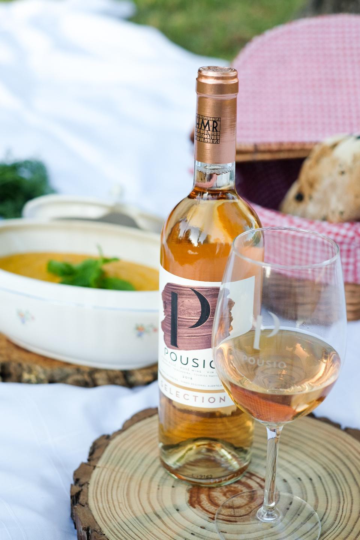 Pousio Selection rosé wine