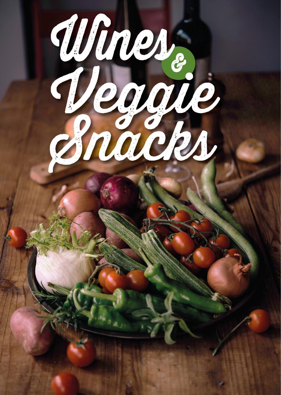 Wine and Veggie Snacks