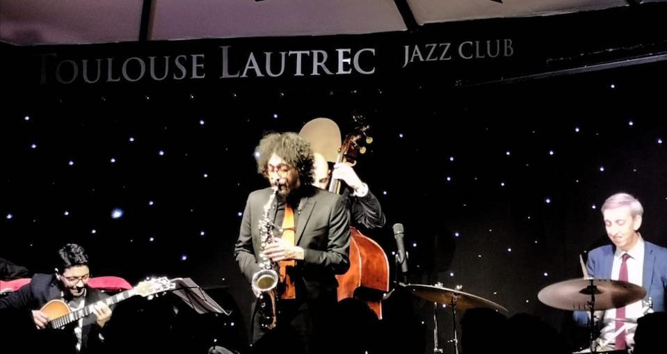 Luigi Grasso Quartet at the Toulouse Lautrec Jazz Club, London Jazz Festival, November 2019