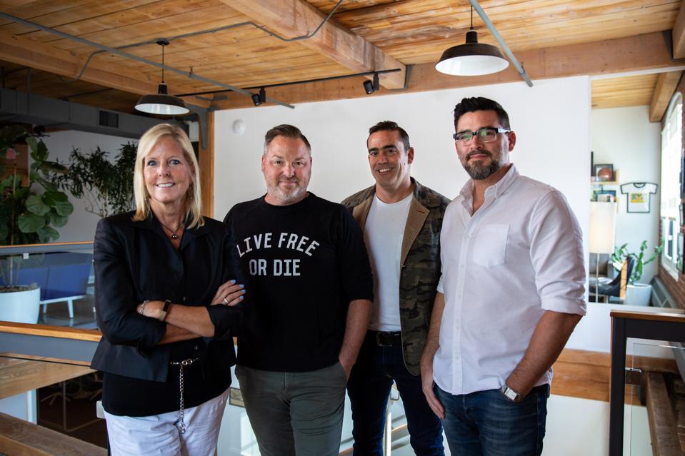YCC Leadership - Pam Hamlin, Travis York, Mark Battista, Michael Wachs