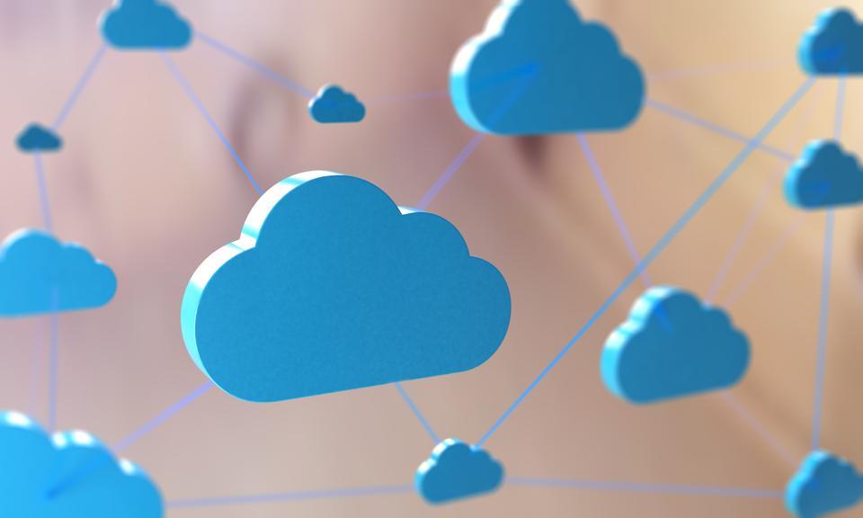 Cloud Computing Network Concept