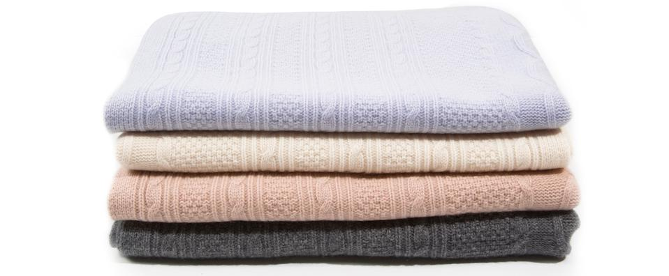 naked cashmere baby blanket